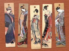 printable geisha bookmarks