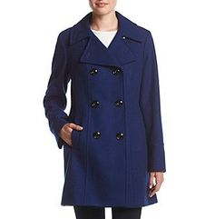 Anne Klein® Elongated Peacoat