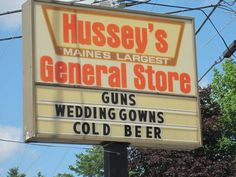 Sounds like a Walmart... All they need to start selling now is wedding gowns