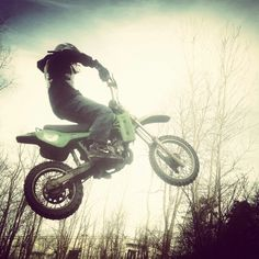 Dirtbike jumps are better than roller coasters.
