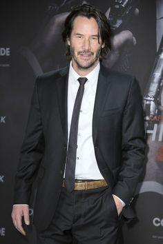 Keanu Reeves Berlin 6 February 2017 John Wick2