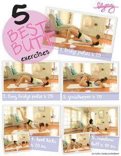 5 Best Butt Exercises