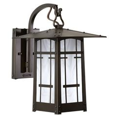 "World Menagerie Dever 1-Light Outdoor Wall Lantern Size: 20"" H x 12.5"" W x 15.75"" D, Shade Finish: Wispy White, Finish: Old Penny"