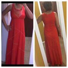 Cable&gauge dress Worn once 55% cotton 45% viscose length 136cm I wear size s/m and this xs it fit me perfect as picture shown size : fit xs&s Cable & Gauge Dresses Maxi