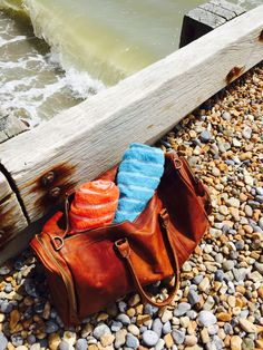 Beach ready with my Deep Weekender in Vintage Brown Leather Holdalls, Beach Ready, Weekender, Deep, Unisex, Brown, Casual, Bags, Vintage