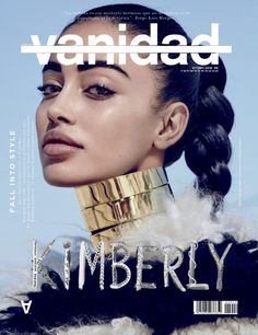 Social media star and model Cindy Kimberly appears on the Fall 2016 cover of Vanidad Magazine. Photographed by Sergi Pons