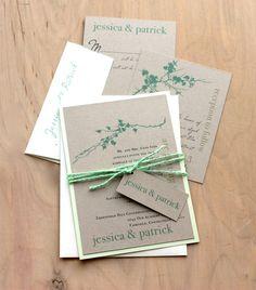 Ivory Romance Mint Green  Rustic Chic & Elegant by BeaconLane, $6.00