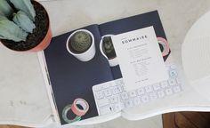 Intern Report - My Little Paris on Behance Portfolio Book, Online Portfolio, Portfolio Design, Brochure Layout, Brochure Design, Book Design, Layout Design, Design Creation, My Little Paris