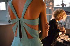 Una espalda espectacular de Cristina Piña PV-2013.
