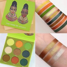 Juvia's Place new Tribe palette,12/07/18