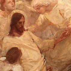 """#angelsministereduntohim"""" by J Kirk Richards"""