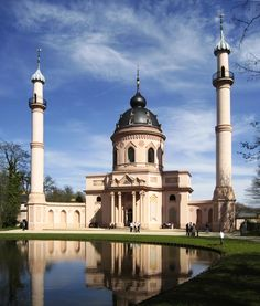 Gambar foto masjid masjid terkenal dan terindah di dunia   Masjid Schwetzingen di Baden-Württemberg, Germany