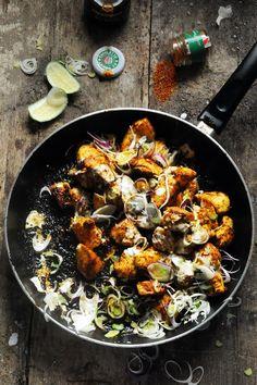 Dorian cuisine.com Mais pourquoi est-ce que je vous raconte ça... : Quand le tandoori devient ras el hanout, le poulet de Beena devient celui d'Obaasan !