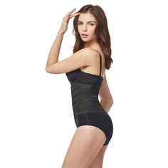 c1d3293deb6f3 AICONL Women Postpartum Girdle Corset Adjustable Belly Body Shaper Tummy  Waist Trainer Slimming Belt     You can find out more details at the link  of the ...