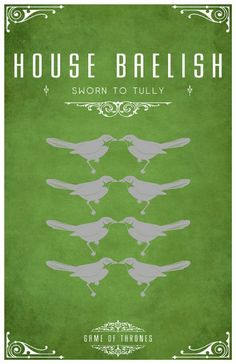 Game of Thrones. House Baelish: Sworn to Tully