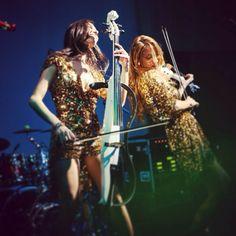 Patricia & Andreea, Amadeus, the Electric Quartet on stage