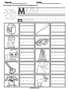 FREE Printable Letter L Tracing Worksheet With Number and
