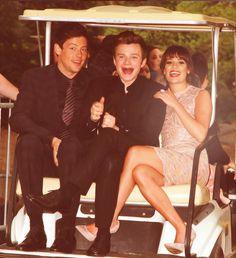 Cory, Chris and Lea ♥