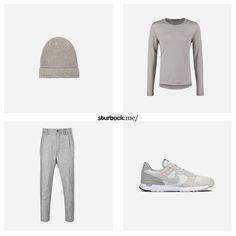 Diese perfekt zu kombinierenden Farben, ergeben einen lässigen Look. Hier entdecken und shoppen: http://sturbock.me/rMr