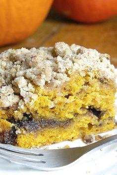 Pumpkin Streusel Coffeecake Recipe **Just use gluten free flour.