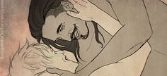 "kurogoesinthedas: ""Dorian happily kissing his amatus is literally what I live for """