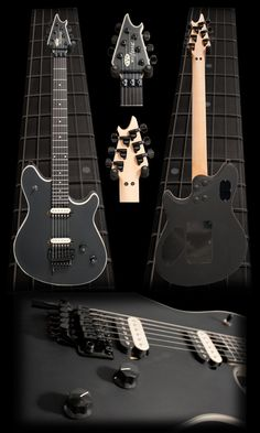 Image detail for -... Electric Guitars  >  EVH Wolfgang Electric Guitar - Stealth Black