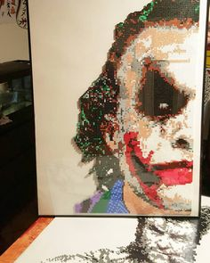 #Joker perler bead pattern by metallan14 #Batman
