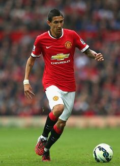 Angel Di Maria - Manchester United v Queens Park Rangers, September 2014 Di Maria Manchester United, Manchester United Players, Football And Basketball, Football Players, Football Season, Soccer World, Gym Membership, Old Trafford, Fa Cup