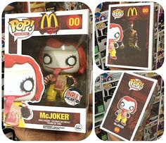 "1,791 Likes, 40 Comments - FUNKO, CUSTOMS, TWD And ART! (@funkoboss) on Instagram: ""My Custom #UnrulyImagination MCJOKER Complete And In Box! Awesome Box Graphics By @dehmarcelo !…"""