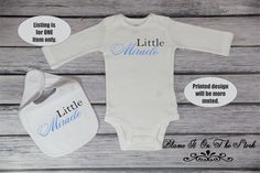 Little Miracle Baby Bodysuit; New Baby Arrival Bodysuit; Baby Reveal Bib; New Baby Announcement; New Baby Girl; Baby Boy Reveal; 224 by BlameItOnTheStork on Etsy