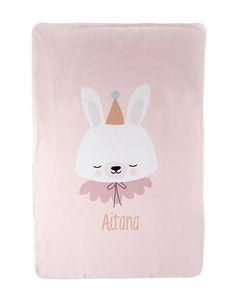 Manta Polar Personalizada Circus Bunny - My Little Zoo, baby shop Manta Polar, Baby Shop, Bunny, Shopping, Bed Covers, Hilarious, Bebe, Rabbit, Rabbits