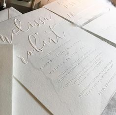 New Wedding Invitations White Simple Layout 64 Ideas Embossed Wedding Invitations, Letterpress Wedding Invitations, Simple Wedding Invitations, Wedding Invitation Wording, Elegant Wedding Invitations, Wedding Stationery, Invitation Ideas, Invitation Suite, Invites