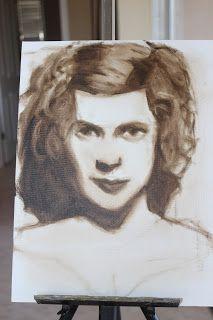 Glenis'blogspot Southern, Dreadlocks, Paintings, Portrait, Hair Styles, Beauty, Atelier, Hair Plait Styles, Painting Art
