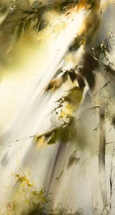 To look at whenever I feel that art cannot capture reality Better than a photo Ilya Ibryaev WATERCOLOR
