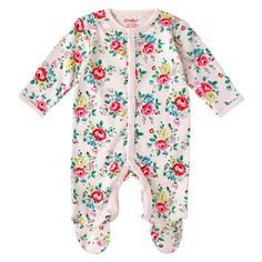 Latimer Rose Baby Sleepsuit | View All | CathKidston