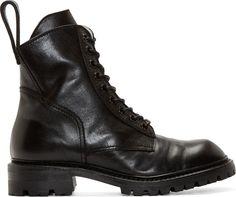 Julius | Leather Combat Boots.