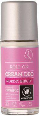 Urtekram Déo Roll-on Crème au Bouleau Nordique, 50 ml | Ecco Verde