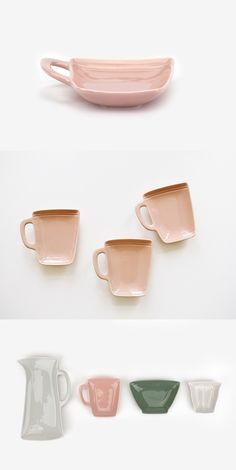 Awwww this is the perfectly cute dish to store my snacks when drinking a cup of tea or coffee! Or a teabag plate Coffee Cup Crafts, Coffee Cups, Tea Cups, Ceramic Tableware, Ceramic Pottery, Art Diy, Air Dry Clay, Teller, Earthenware