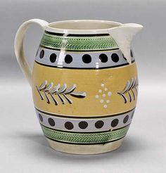 Mochaware Pottery: Few examples have survived over the years making it a rare American collectible. Read where to find largest collection in New England. By Catherine Riedel, Yankee Magazine.