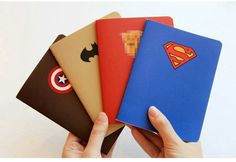 The Avengers Super herói homem Batman capitão Ameria diário papelaria livro novo livro ponto notepad a6