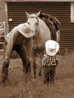 Fine Art Print - Western Ranch Photography Cowboy 8x10. $28.00, via Etsy.