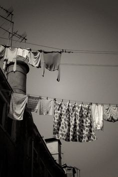 Laundry day in Venice Open Shutters, Street Photography, Art Photography, Photo B, Great Photographers, Monochrom, Washing Clothes, At Least, Black And White