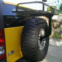 Spare Tire Rack   Carry Extra Gear And Cargo With This Spare Tire Rack.  Leaves