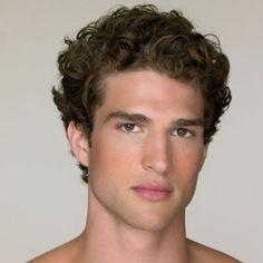 corte masculino cabelo encaracolado medio - Pesquisa Google