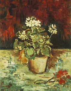 Vincent van Gogh: The Paintings (Geranium in a Flowerpot)