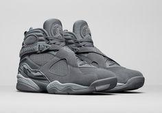 jordan 8 all grey
