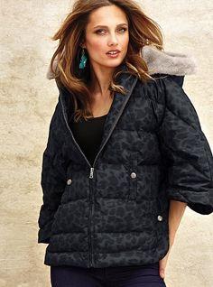 Victoria's Secret Short Puffer Jacket New | Puffer jackets, Cold ...