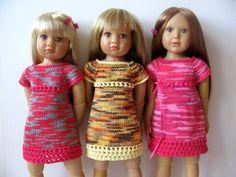 SUMMER TWIGGY Dress slim 18 inch doll Kidz n Cats  Knitting pattern (# 104) by KNITnPLAY on Etsy https://www.etsy.com/listing/200751718/summer-twiggy-dress-slim-18-inch-doll