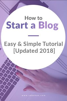 So you want to start