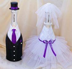 оформление бутылок на свадьбу: 17 тыс изображений найдено в Яндекс.Картинках
